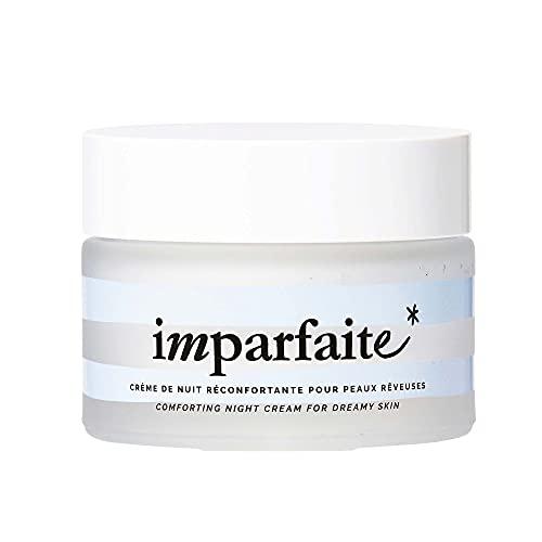 Imparfaite - Crème de nuit pour peaux rêveuses - Hydrate et nourrit la peau - 95% d'ingrédients d'origine naturelle - Karité + Coco + jus d'aloe vera bio - Vegan - 50ml - 24,90€