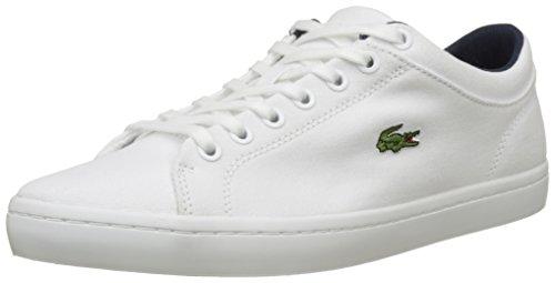 Lacoste Straightset Bl 2 Cam Wht, Sneaker Uomo, Bianco (White), 42 EU