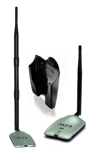 The ALFA High-Gain USB Wireless Long-Range Wi-Fi Network Adapter