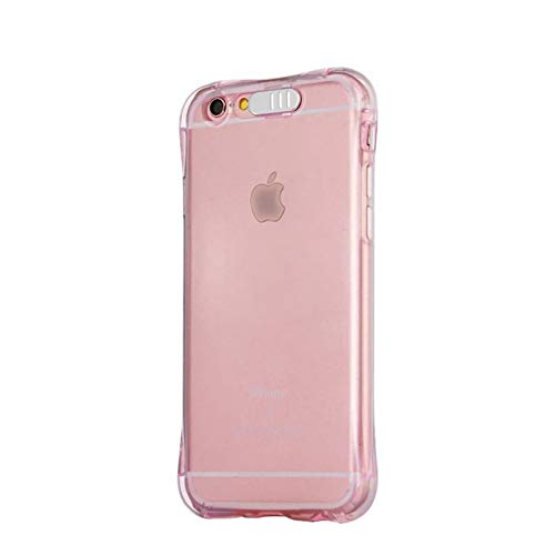 Carcasa para iPhone X Xs Xr Xs Xs Max Carcasa transparente y luminosa para iPhone 5, 5S, 6, 6S, 7, 8 Plus