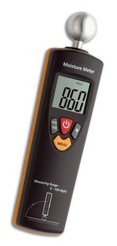 TFA Dostmann Humidcheck Contact, Materialfeuchtemessgerät, 30.5503, ideal für die Baustelle