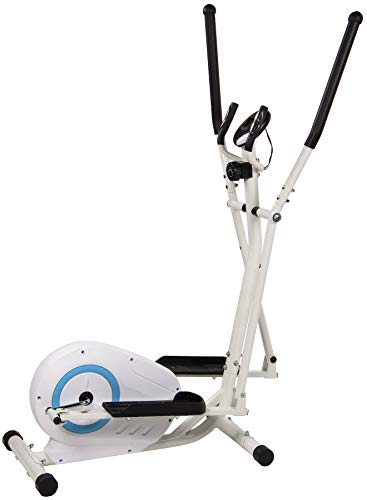 BalanceFrom Magnetic Elliptical Machine Cross Trainer with 8 Level Resistance and Digital Monitor, 330-Pound Capacity