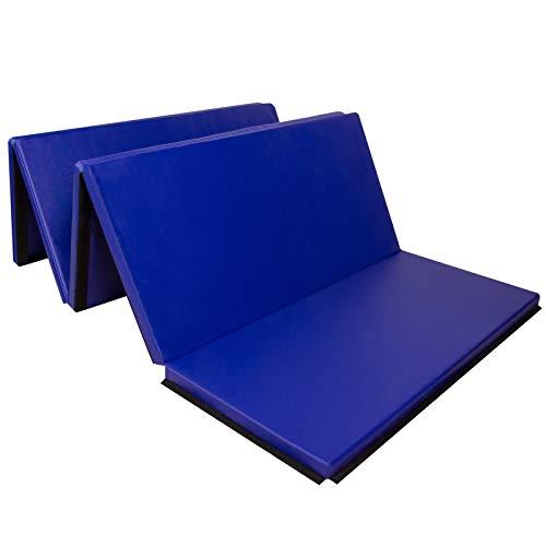 CCLIFE 300x117x4cm Klappbare Weichbodenmatte Turnmatte Fitnessmatte Gymnastikmatte Rutschfeste Sportmatte Spielmatte