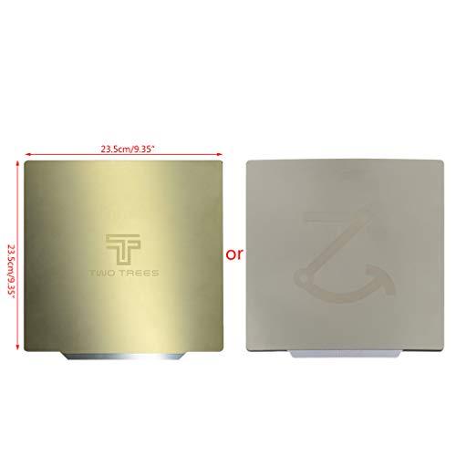 Shefii Removal Spring Steel Sheet Pre-applied Flex Magnetic Hot Bed Sticker 220x220 235x235 310x310mm for ÇR10 Ender 3 Hot Bed Šapphire