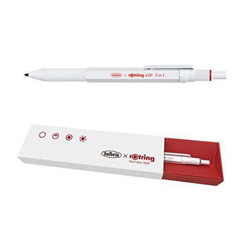 holbein『ロットリング 600 3in1 マルチペン パーマネントホワイト 2150666』