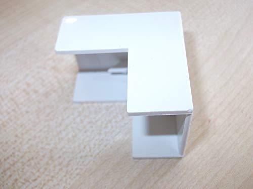 Innovo Ángulo externo para unir PVC autoadhesivo mini tronco 25 mm x...