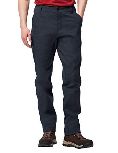 Jack Wolfskin Winter Travel Pantalon Homme, Midnight Blue, FR : 2XL (Taille Fabricant : 29)