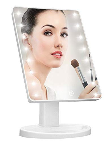 KOOKIN Lighted Vanity Makeup Mirror with...