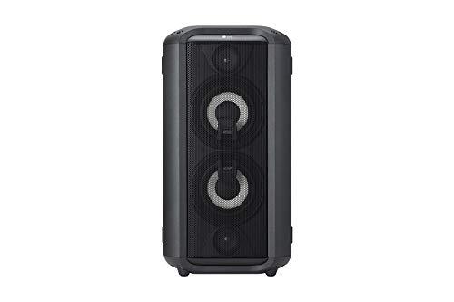 LG RL4 Bluetooth-Lautsprecher mit 150 Watt (kabelgeb&en, 5 Zoll Dual Tieftöne) schwarz