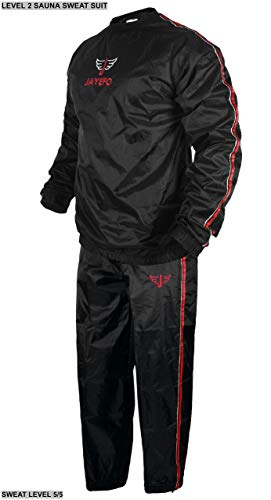 Jayefo Level 2 Sauna Sweat Suit 6XLarge Round Neck