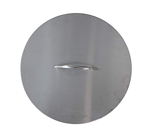 Breeo Double Flame Fire Pit 24' Lid (Lid Only)   304 Stainless Steel