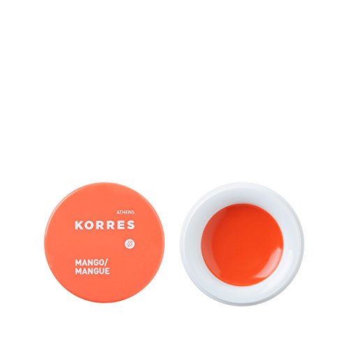 Korres Lip Butter, Mango / Orange,1er Pack (1 x 6 g)