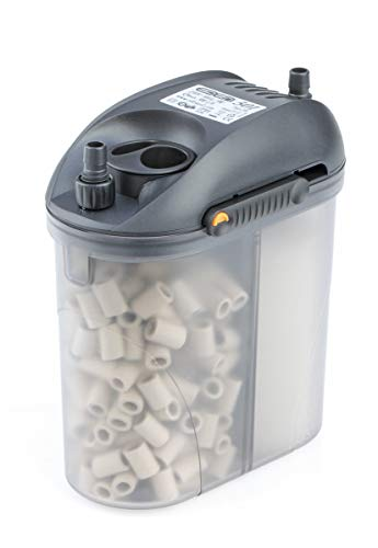 Eden 57260 501 Außenfilter 5 W 300 l/h - Filterung, Reinigung und Aufbereitung von Aquarien zur Montage außen, ideal für bis zu 60 Liter Süßwasser- und Meerwasseraquarium