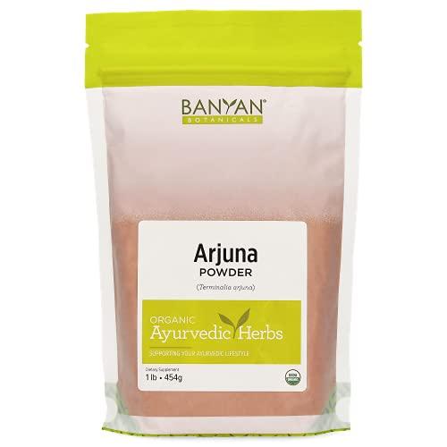 Banyan Botanicals Arjuna Powder - USDA Certified Organic - Terminalia arjuna - Ayurvedic Bark Powder for a Healthy Heart* - 1 Pound