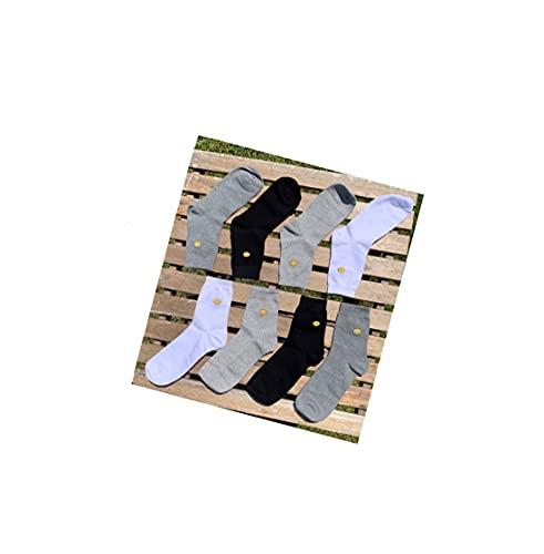 Generic Premium Unisex Socken 9 Typen 4Farben hergestellt aus Korea (Nr.B Size 38)