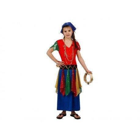 DISFRACES GILMAR Disfraz deZingara infantil - 7-9 años