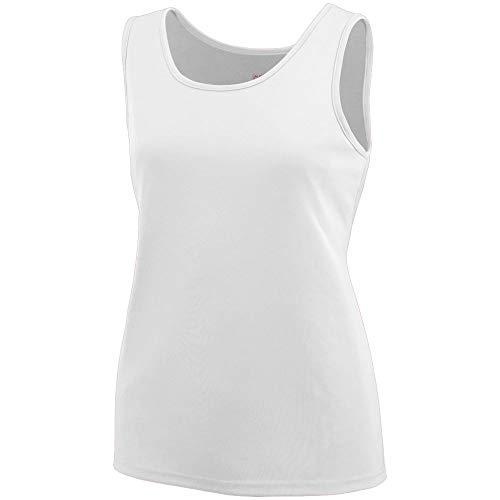 Augusta Sportswear Women's 1705, White, Large