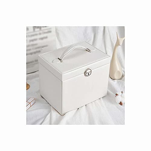 LQIAN Caja Joyero Caja de Joyas,Pendientes,Anillos y Collares pequeño joyero