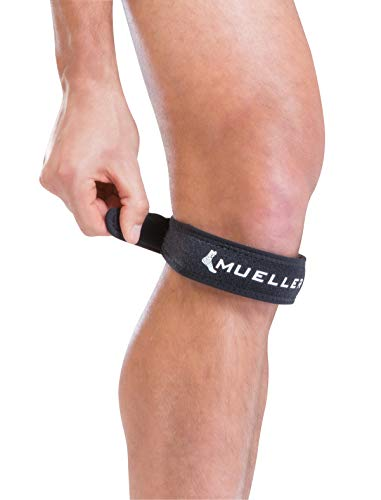 Mueller Jumper's Knee Strap, Black, One Size Fits Most   Single Strap Knee Brace