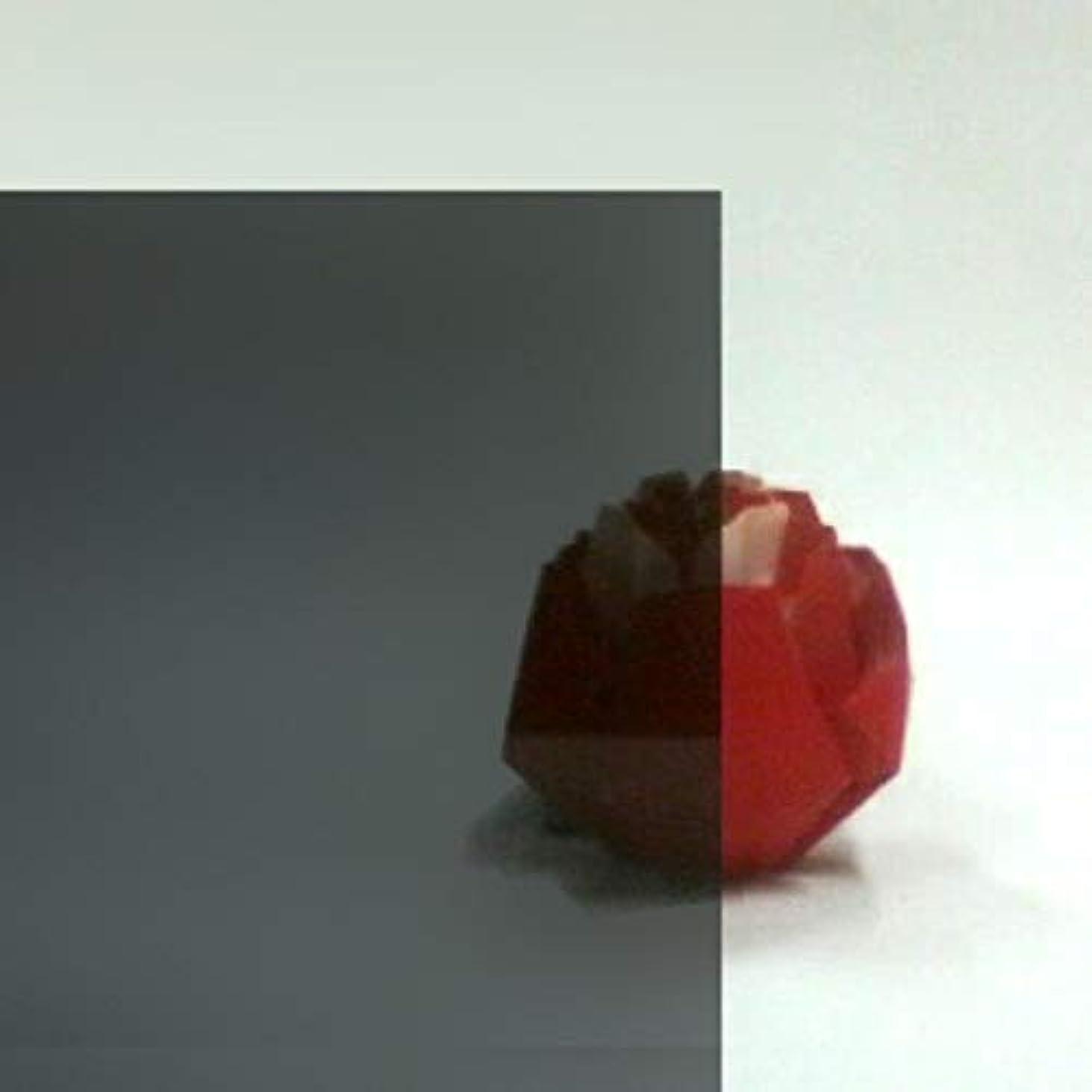 粘土独立害日本製 クラレックス アクリル板 ブルースモーク (精密セルキャストノングレア板) 厚み 1.5mm 1000×1000mm No.1 N-127 全光線透過率20% (カット?キャンセル返品不可)