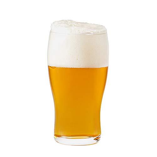 Umi. Essentials, bicchieri'pine' da 570 ml, set da 6, per birra, succhi, bibite e acqua
