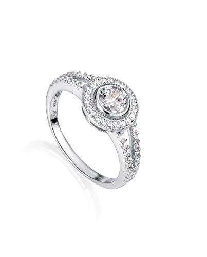Viceroy Anillo Jewels 71013A012-38 Plata de Ley