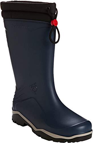 Dunlop Blizzard gefütterte Herren Gummistiefel, Blau (Blue/Grey/Black), 45 EU
