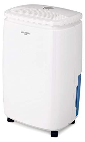 Bastilipo DEH-10-210 Deshumidificador 10 litros, 210 W, 42 Decibeles, Plástico, Blanco/Azul