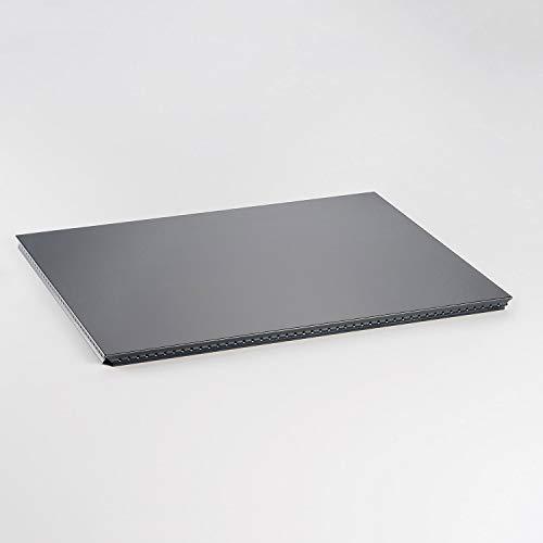 Swissmobilia Tablette extérieure pour USM Haller RAL 7016 Gris anthracite, éléments en métal, différentes dimensions du système, dimensions du système : 500 x 395 cm