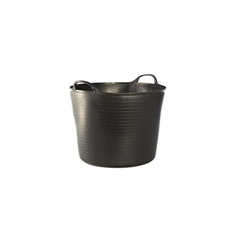 SMART-T-HAUS Cubo Flexible/Capazo, Negro, 42 l