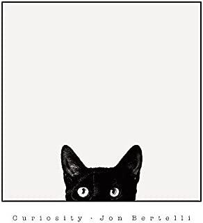 Art, Inc. Laminated Curiosity Cat Peeking Poster Print by Jon Bertelli, 18x20