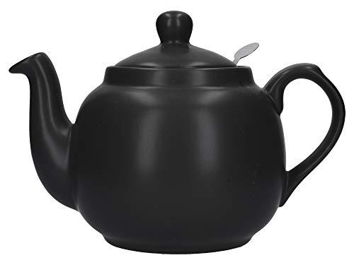 London Pottery Théière avec filtre 4 tasses Noir