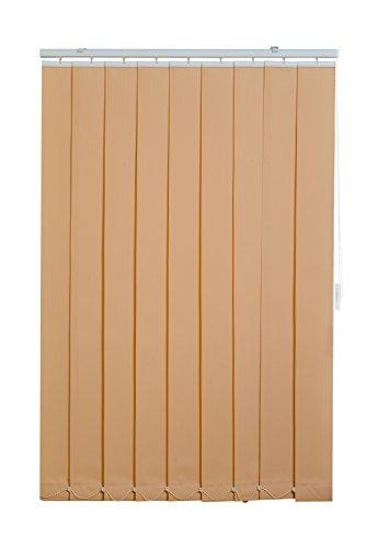 sunlines Vertikaler Lamellenvorhang, Creme, (BxH) 100 x 150 cm