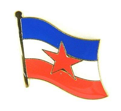 Flaggen Pin Jugoslawien Pins Anstecknadel Fahne Flagge FLAGGENMAE®