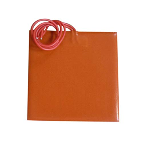 Xuebai 3D Printer Silicone Heated Pad 80x100mm Heating Plate Mat 12V 20W Heated Bed Heated Pad
