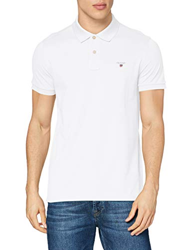 Gant - 2201 - Polo - Homme - Blanc - FR: X-Large (Taille fabricant: X-Large)