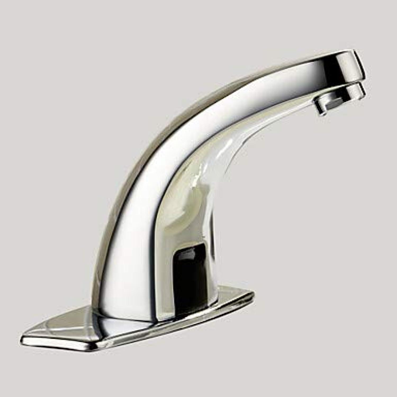 GFFXIXI Moderne Mittellage berühren berührungslos Messingventil EIN Loch Hnde frei EIN Loch Chrom, Waschbecken Wasserhahn