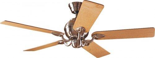 Hunter Fans Ventilador de techo Salinas 132 cm, cromo cepillado