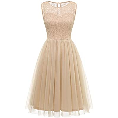 Tulle Dress for Women Floral Lace Bridesmaid Dress 22022021072657
