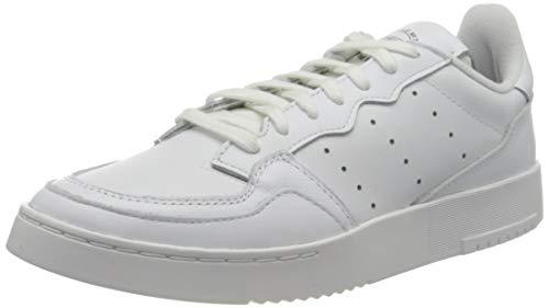 adidas SUPERCOURT, Scarpe da Ginnastica Uomo, Ftwr White Ftwr White Core Black, 44 EU