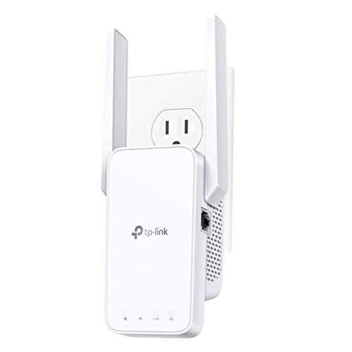 TP-Link AC1200 WiFi Extender (RE315), Covers Up to 1500 Sq.ft and 25 Devices, 1200Mbps Dual Band WiFi Booster with External Antennas, WiFi Repeater, Supports OneMesh