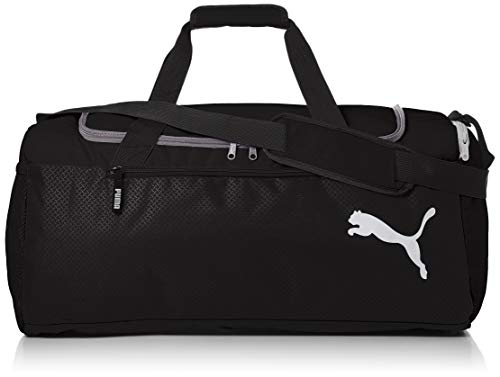 Puma Fundamentals Sports Bag M Bag, Unisex Adulto, Puma Black, OSFA