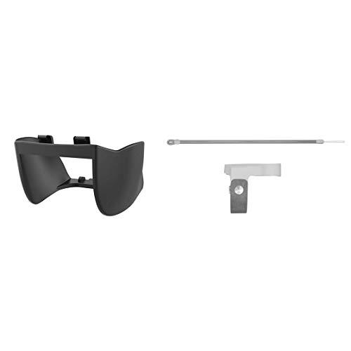 PGYTECH Mavic Mini Lens Hood Protective Cover Gimbal Camera Sun Shade Protector with Original Mavic Mini/Mini 2 Propeller Holder(Charcoal) for DJI Mavic Mini Drone Accessories
