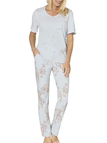 Triumph Lounge-Me Cotton Pyjama mit Kurzarm-Shirt Damen