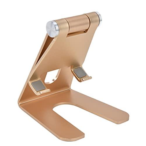 Mobiele telefoonstandaard, telefoonhouder Stabiel verstelbaar aluminiumlegering voor smartphones