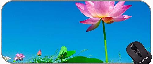 Tema de SPA con Lyy Lotus Flower Mouse Pads, Lotus Mousepad XXL para el Juego