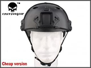 EMERSON Ops-Coreタイプ Fast Carbon ファスト PJ 超軽量 ヘルメット BK 廉価版