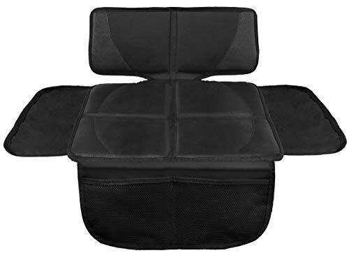 LIONSTRONG Kindersitzunterlage, ISOFIX geeignete Unterlage für Kindersitze, Sitzschoner zum Schutz Ihrer Autositze (Schwarz klein)
