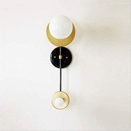 Lámpara industrial, E27 Edison Lámpara de pared de hierro forjado, lámpara de pared de arte creativo posmoderno, luz de pared retro industrial de la pared de la cabecera, modelo de la pared del modelo