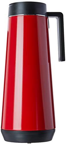 Bule Térmico em Aço Inox Tramontina Exata Vermelho 1l